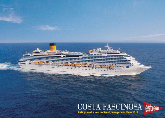 Costa Fascinosa Navio - ISM BR Agência